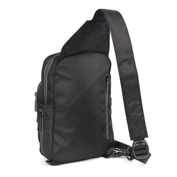 瑞士軍刀包男女士胸包休閒單肩包斜背包胸前包多功能左右調整小包