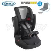 GRACO Airpop 嬰幼兒成長型輔助汽車安全座椅/汽座 -鐵騎兵(送 汽車保護墊)