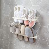 【新年鉅惠】日式粘貼壁掛式鞋架收納架置物架