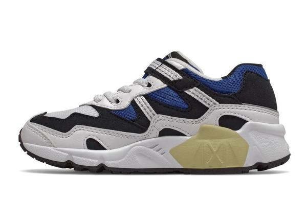 New Balance 藍白黑三色寬楦復古休閒童鞋-NO.PV850YSC