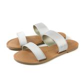 MALVADOS ICON 經典系列 涼鞋 拖鞋 銀色 女鞋 寬版 3009-2173 no031