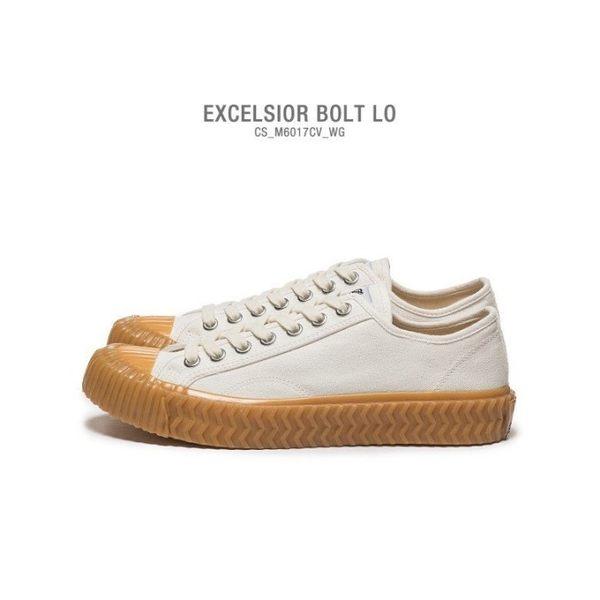 v[TellCathy]Excelsior 韓國 帆布鞋 休閒男女鞋 奶油白 CS_M6017CV_WG
