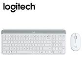 【Logitech 羅技】MK470 超薄無線鍵鼠組/珍珠白