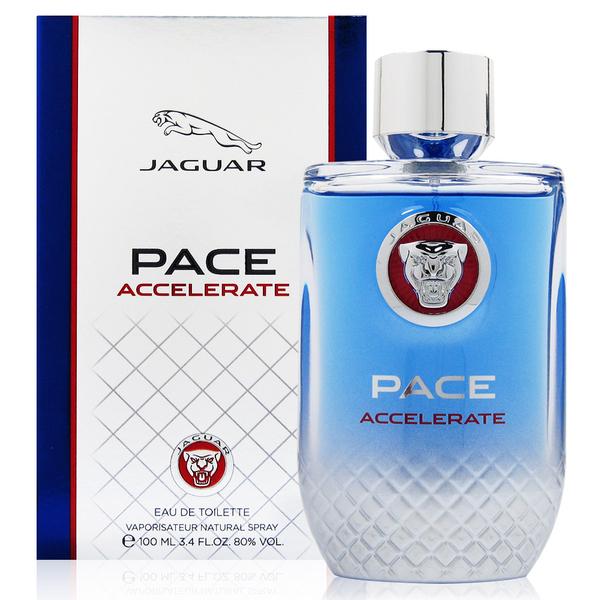 JAGUAR積架 Pace Accelerate 極限捷豹男性淡香水 100ml 贈JAGUAR積架鑰匙圈乙份 [QEM-girl]