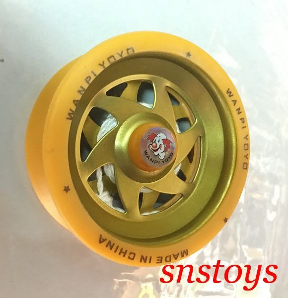 sns 古早味 玩具 溜溜球 功夫球 內軸鐵製 直徑6.5x3公分