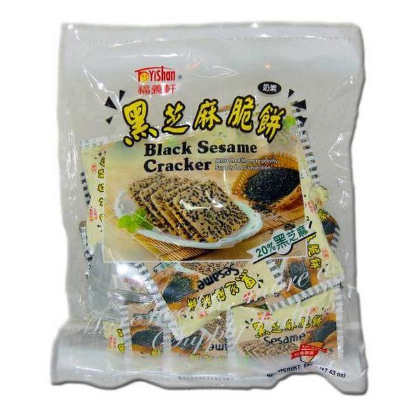 【特價】福義軒量販包-黑芝麻脆餅(360g/包)【合迷雅好物超級商城】