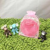 (小號)素色束口紗袋 交換禮物 包裝袋 婚禮小物 素色透明 束口袋 飾品 紗袋【X017】生活家精品