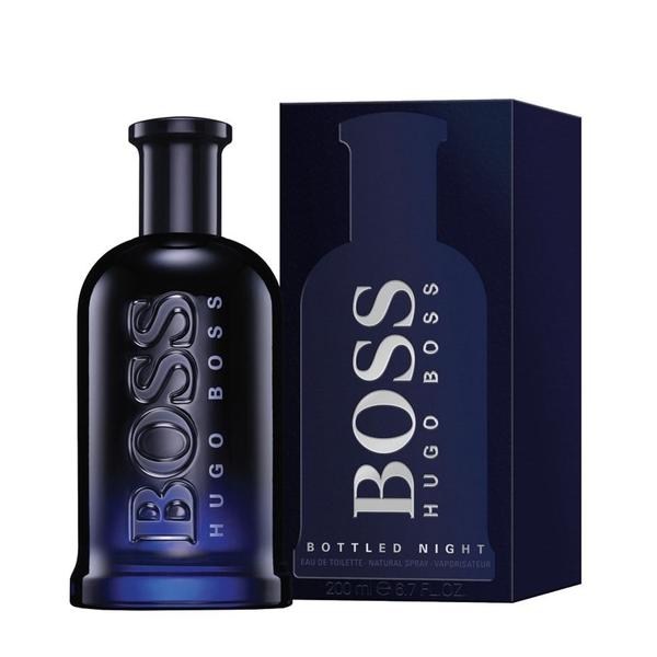 【HUGO BOSS】Bottled Night 自信之夜 男性淡香水 200ml
