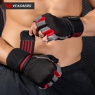 護腕 健身手套男女單杠鍛煉啞鈴器械護腕訓練耐磨半指止滑運動透氣 【現貨快出】