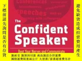 二手書博民逛書店The罕見Confident Speaker: Beat You