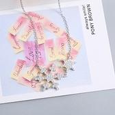 項鍊 925純銀鑲鑽墜子-經典獨特生日情人節禮物女飾品73gx46【時尚巴黎】
