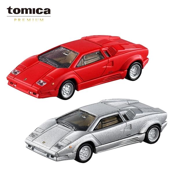 【日本正版】兩款一組 TOMICA PREMIUM 12 藍寶堅尼 Countach 25週年紀念 玩具車 多美小汽車 - 176008