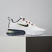 Nike Air Max 270 React 女鞋 黑白 舒適 避震 休閒鞋 CZ6685-100