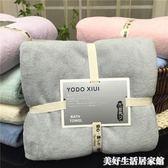 日本大浴巾成人男女裹胸超強吸水柔軟新生嬰兒寶寶兒童 美好生活居家館