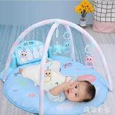 新生嬰兒腳踏鋼琴健身架器踩寶寶益智玩具男女孩CC4599『美鞋公社』