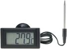 泰菱電子◆LCD溫度表 可設定上下警報 溫度表 溫度計DTM-300C TECPEL