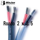 【名展影音】瑞典SUPRA Rondo 2 x 2.5 (1M) 喇叭線