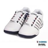 K-SWISS 新竹皇家 Court 白色 皮質 休閒鞋 男款 NO.B0321