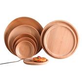 日式木餐盤子ins創意木質托盤早餐盤甜品盤速食盤家用茶具收納盤 【雙十同慶 限時下殺】