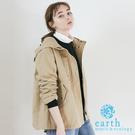 「Spring」 2WAY內裡可拆兩穿式連帽外套 - earth music&ecology