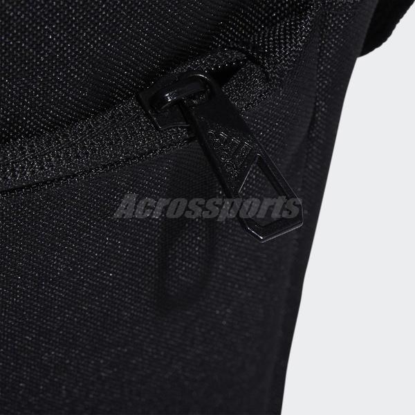 adidas 斜背包 Organizer Bag 黑 白 男女款 運動休閒 包包 【ACS】 ED6877