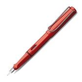 LAMY 16 safari F0.5 紅桿鋼筆