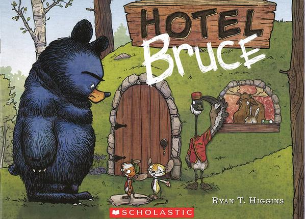 【麥克書店】HOTEL BRUCE/ 英文繪本 《主題:  幽默 Humor》