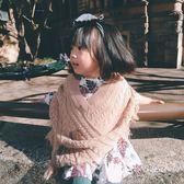 史豌豆女童外套2018新款秋裝女寶寶韓版時尚上衣兒童洋氣斗篷