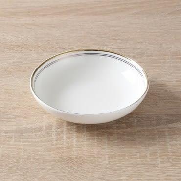 HOLA home 艾勒琴骨瓷調味碟4吋 棕白