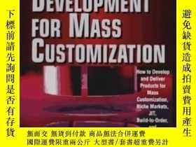二手書博民逛書店Agile罕見Product Devevelopment For Mass CustomizatiomY255