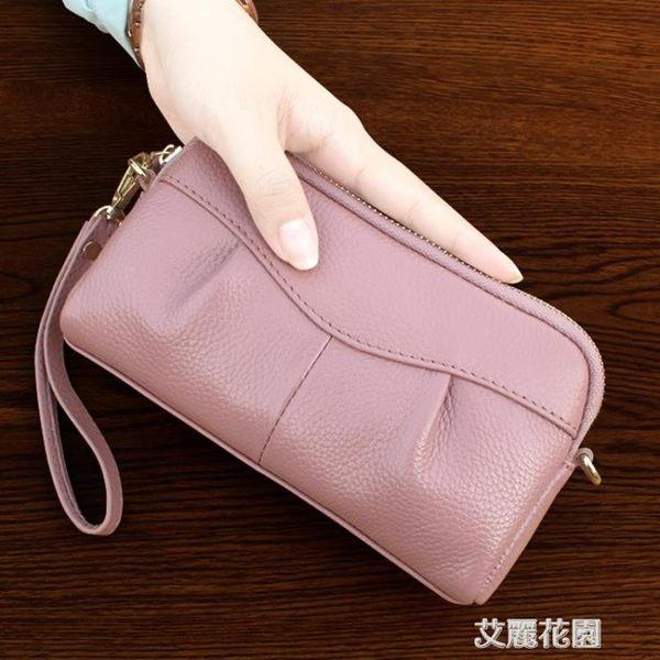 手拿包女小手包2018新款歐美大容量手抓包潮流時尚零錢手機包『艾麗花園』