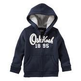OSHKOSH平行輸入童裝 男寶寶 純棉連帽薄外套 深藍【OS11475312】