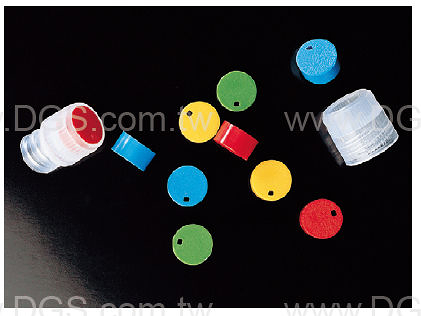 《DELTALAB》冷凍小瓶 蓋用色片 Cryogenic Vials, Closure color code
