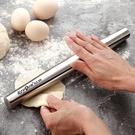 桿麵棍 德國304不鏽鋼搟面杖家用搟面棍廚房烘焙工具趕面棍趕面杖搟面棒 鉅惠85折