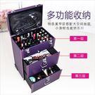 化妝箱 專業拉桿化妝箱多層紋繡師工具箱大容量美甲箱子彩妝跟妝美容箱子
