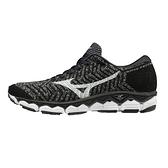 Mizuno Waveknit S1 [J1GD182507] 女鞋 運動 慢跑 避震 耐磨 舒適 美津濃 黑灰