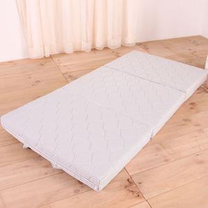伊登 10cm手提式好攜帶三折床墊(5尺雙人)