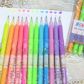 螢光筆 鑽石粉彩筆 中性筆 文具 獎品 禮品贈品(1組12色)-艾發現