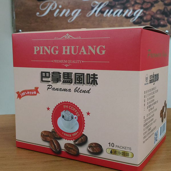 品皇『掛耳式咖啡』-巴拿馬風味 11g*10包/盒