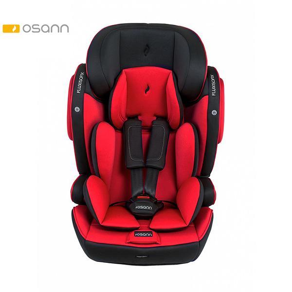 【預購9月初到貨】Osann Flux Isofix 2至12歲成長型汽車安全座椅-魔力紅