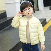 兒童羽絨棉服內膽女童短款棉衣寶寶棉襖男童外套嬰兒反季加厚冬裝 草莓妞妞