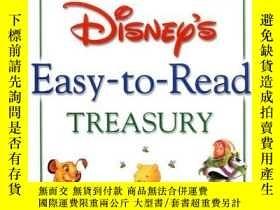 二手書博民逛書店Disney s罕見Easy-To-Read Treasury