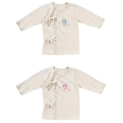 【奇買親子購物網】酷咕鴨KU.KU. 春夏有機純棉肚衣(藍色/粉色)