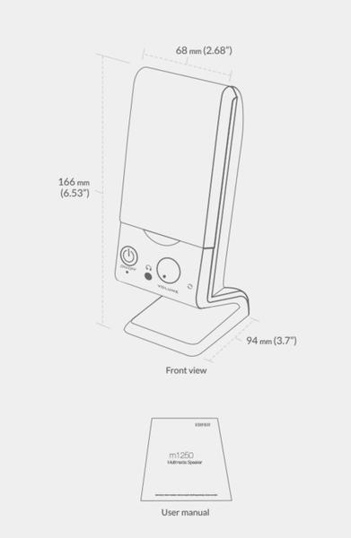 ❤限量❤EDIFIER M1250❤高品質名牌喇叭❤適用桌上型電腦❤筆記型電腦❤液晶電視USB3.5MM可接耳機