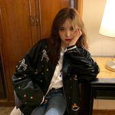 棒球外套/刺繡服韓版寬松短款春原宿風學生上衣夾克潮