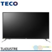 限區配送不安裝/TECO 東元 43吋 4K Smart連網液晶顯示器+視訊盒 TL43U5TRE