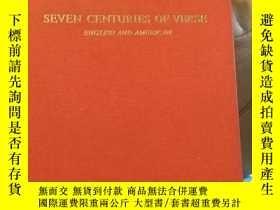二手書博民逛書店Seven罕見Centuries of Verse CY1446