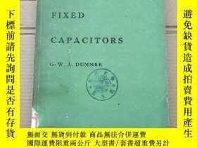 二手書博民逛書店fixed罕見capacitors(P2015)Y173412