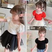 兒童短袖T恤女童裝夏裝公主韓版寶寶夏季衣服上衣【桃可可服飾】