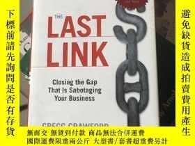 二手書博民逛書店THE罕見LAST LINK(有簽名)Y9354 Gregg C